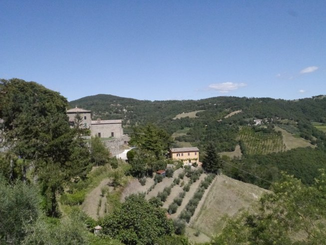 6 Tage Yoga Retreat in Umbrien, Toskana, Italien