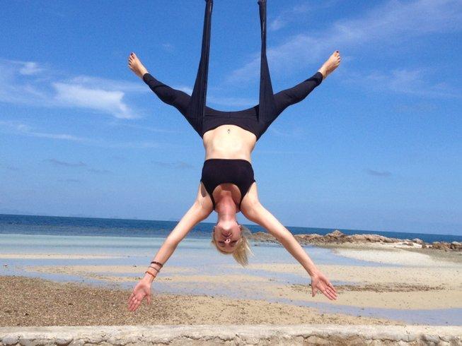 7 Day 50hr Aerial Yoga TTC in Koh Phangan, Thailand
