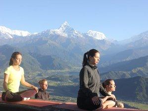 29 jours-200h de formation de professeur de yoga à Pokhara, Népal