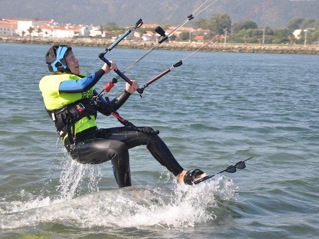 8 Days Kitesurfing Camp in Esposende, Portugal