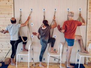 9 Day Yoga Retreat in the Iyengar Tradition in Amorgos