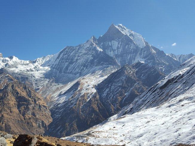 14 Tage Annapurna Base Camp Trek und Yoga Urlaub in Kathmandu, Nepal
