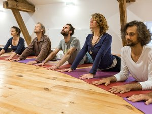 8 Days Traditional Non-Dual Hatha Yoga Immersion in Beautiful Beaujolais, France