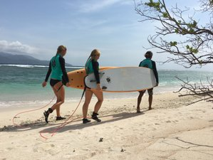 3 Days Semi-Private Surf Camp in Gili Trawangan, Indonesia