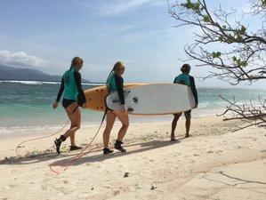 3 Day Semi-Private Surf Camp in Gili Trawangan, Lombok