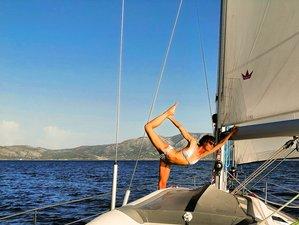 8 Day 'Sea-Sun-Silence' Sailing Yoga Retreat in Sporades, Greece