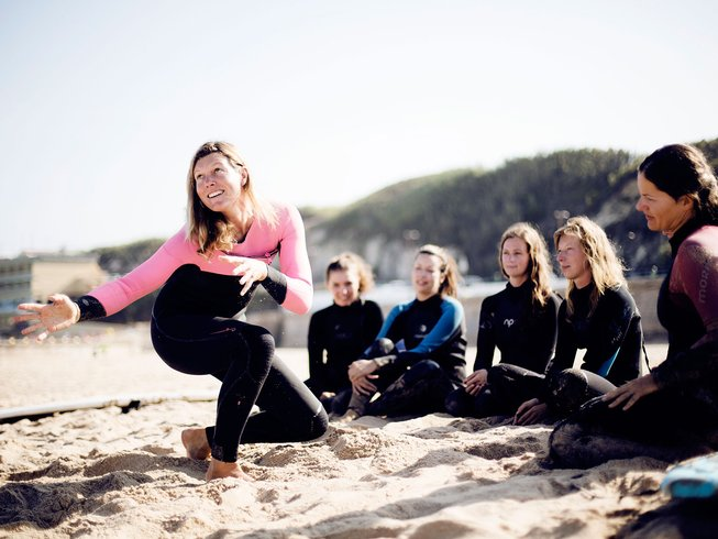 8 Days Yoga, Climb, and Surf Holiday in Colares, Sintra, Portugal