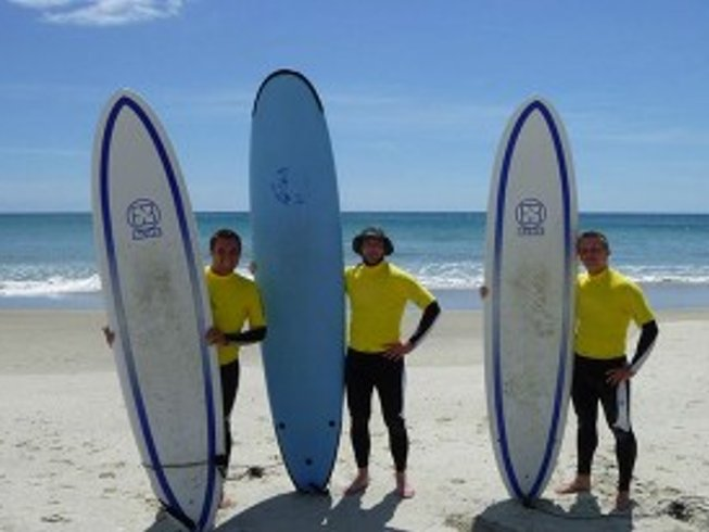 4 Days Surf Camp in New Zealand
