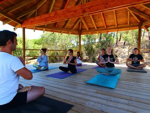 7 jours de vacances de hatha yoga, pranayama et nidra yoga en Algarve, au Portugal
