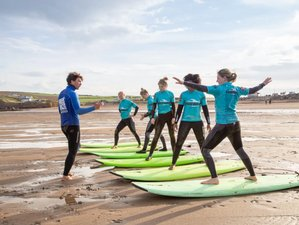 5 Days Midweek Yoga and Surf Holiday in Cornwall, UK