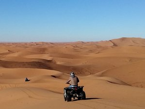 10 Day Sahara Dunes, Mountains, and Kasbah Quad Bike Guided Tour in Morocco