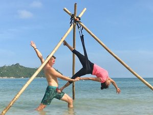 6 Day Aerial Yoga Retreat in Magical Paradise, Koh Phangan Thailand