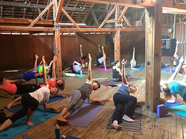 3 days california running pilates wine tasting and yoga for Yoga and wine retreat