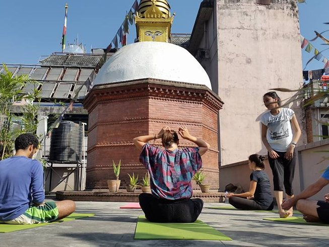 22 jours-200h de formation de professeur de yoga à Katmandou, Népal