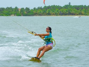 8 Days Beginner Kitesurfing Camp in Kalpitiya, North Western Province, Sri Lanka