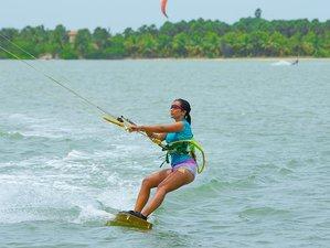 8 Days Beginner Kitesurfing Camp in Illanthadiya, Kalpitiya, Sri Lanka
