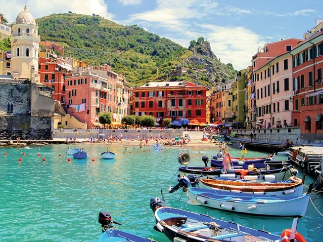 8 Days Cooking and Walking Holiday in Italy