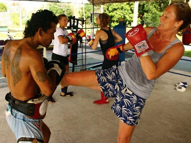 1 Month of Muay Thai in Koh Phangan, Thailand