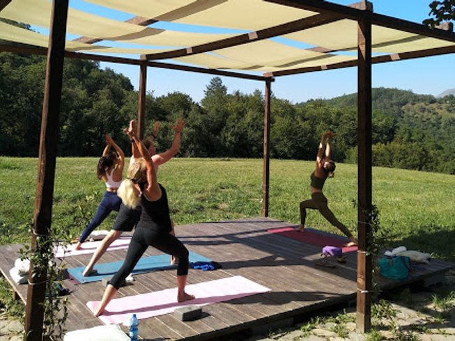 3 Days Yoga and Pranayama Retreat in organic Agriturismo in Liguria, Italy