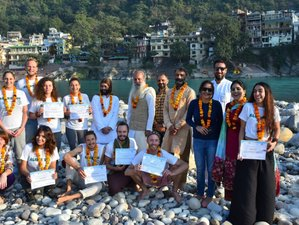 26 Days 200hr Yoga Teacher Training with Naturopathy and Emotional Blockage in Rishikesh, India