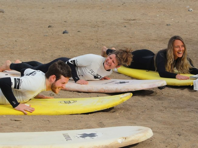 8 Days Yoga and Surf Holiday in Tijoco Bajo, Adeje, Spain