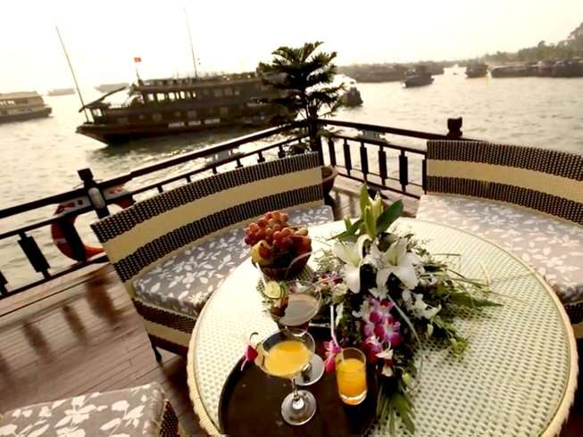3 Days Cultural Cooking Cruise in Ha Long Bay, Vietnam