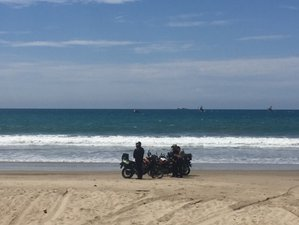 8 Day Spondylus Guided Motorcycle Tour in Ecuador