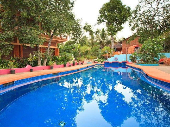 8 Tage Idyllischer Neujahrs Meditations und Yoga Retreat Goa, Indien