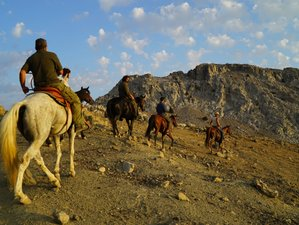 6 Day Beautiful Mountain Riding Holiday for Groups in Kapetaniana, Crete