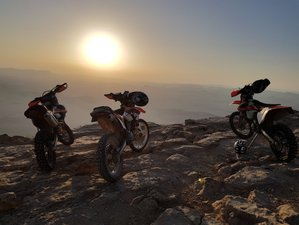 4 Day Extreme Deserts, Craters and Canyons Guided Enduro Tour in Judean Desert