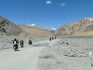 14 Day Breathtaking Off-Beat Ladakh Guided Road Trip Motorcycle Tour