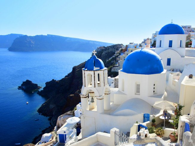 8 Days Wellbeing, Pilates, and Yoga Retreat Santorini, Greece