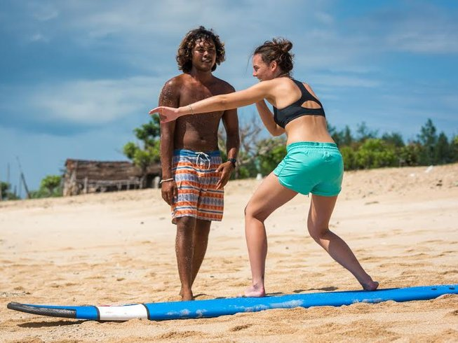 8 Days Surf Camp and Yoga Retreat for Singles in Bali, Indonesia