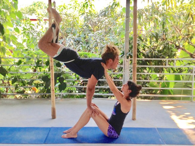 7 Days 50hr Bali Aerial Yoga Teacher Training