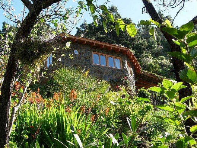 8 Tage Reiki und Yoga Retreat für zwei Personen in der Oase Vidyamor auf La Palma