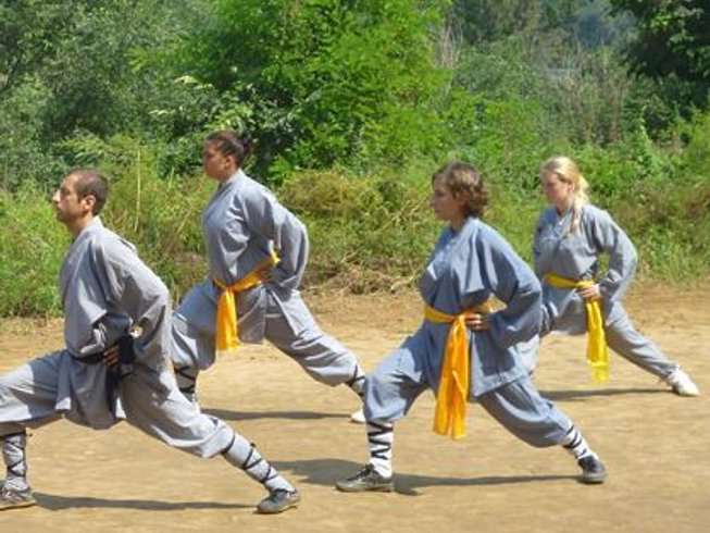 6 Months Kung Fu and Tai Chi Training in China