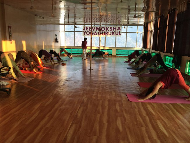 4 Weeks Intensive Yoga & Meditation Course in India