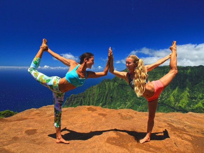 8 jours en stage de yoga de Kauai au nouvel an à Hawaï, États-Unis