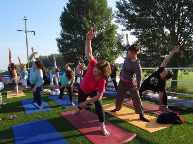 8 Days Yoga & Meditation or Yoga & Mantra on Boat in the Netherlands