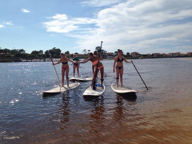 8 Days Fitness and SUP Yoga Retreat in France