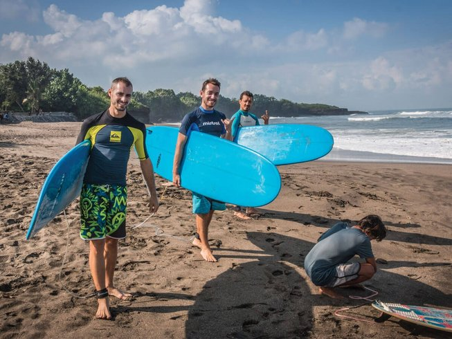 7 Days Memorable Surf Camp in Canggu, Kuta North, Indonesia
