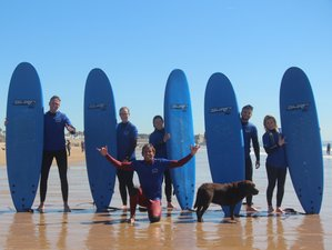 8 Day Surf and Yoga Camp in Cascais, Lisbon