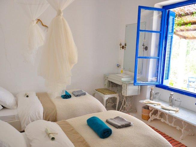 7-Daagse Yoga Retraite op Privé Island, Griekenland