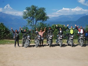 9 Day Kathmandu to Mustang Guided Motorcycle Tour Nepal
