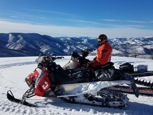 2 Day Wilderness Snowmobile and ATV Guided Tour in Darby, Montana