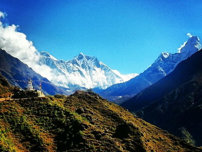 18 Days Everest Base Camp Yoga Trek in Nepal