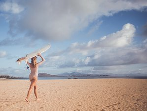 8 Days Surf and Flow Yoga Holiday in Fuerteventura, Spain