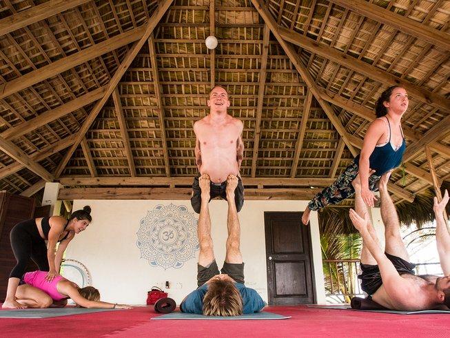 7 jours en stage d'acroyoga à Cabarete, République Dominicaine