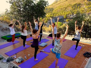 7 Day Vinyasa & Yin Retreat with Optional Workshops at an Eco Mountain Center in Murcia