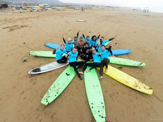 8 Days Family Surf Holiday in Agadir, Morocco